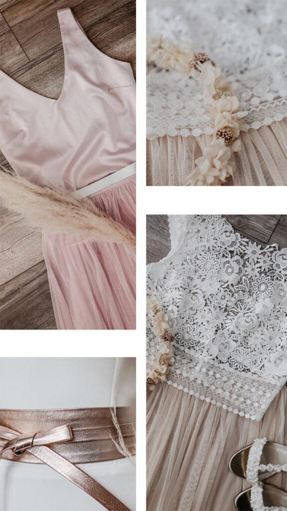 Brautkleid Standesamt-Look